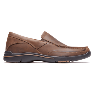 City Play Eberdon - Men's Dark Brown Shoes